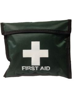 1 Person Playground Kit in Green Pouch, First Aid Kit