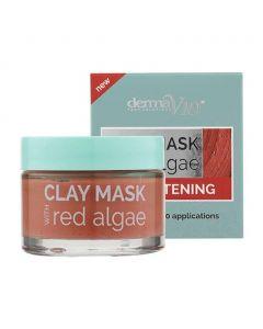 DermaV10  Brightening Clay Mask with Red Algae, 50ml
