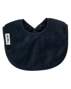 Silly Billyz Fleece Biblet, Navy