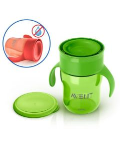 Philips Avent Grown Up Cup, Red OR Green, 260ml, Pack of 1