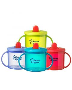 Tommee Tippee Essentials First Cup, Various Colours, Pack of 1