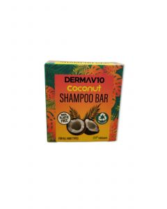 Derma V10 Coconut Shampoo Bar, Pack of 2