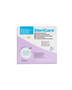 SteriCare Disposable Nursing Breast Pads, Pack of 60