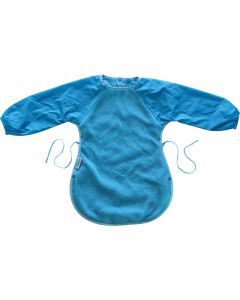Silly Billyz Messy Eater Fleece Bib, Aqua, 12 Months - 3 Years