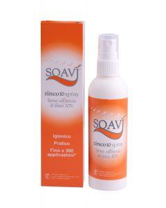 Soavi Zinco10, 10% Zinc-oxide Nappy Cream Spray, 100ml