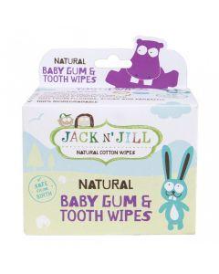 Jack N' Jill Gum & Tooth Wipes, Pack of 25