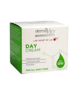 Derma V10 Innovations Day Cream with Q10, 50ml