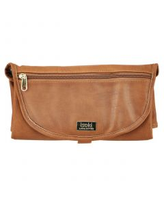 Isoki Changing Mat Clutch, Amber Tan