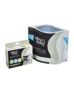 Vital Baby Nurture Microwave Sterilising Bags, Pack of 5