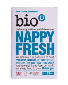 Bio-D Vegan, Cruelty-Free Nappy Fresh, 500g