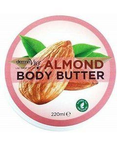 Derma V10 Almond Body Butter, 220ml