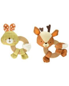Bright Starts Little Taggies Clutch & Hold Wooden Toy - Chosen At Random