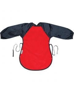 Silly Billyz Messy Eater Fleece Bib, Red/Navy, 12 Months - 3 Years