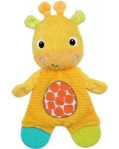 Bright Starts Snuggle & Teethe Giraffe Plush Teether