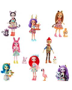 Enchantimals Doll Assortment - 1 Selected At Random
