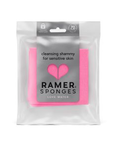 Ramer Cleansing Shammy for Sensitive Skin, Various Colours, Pack of 1