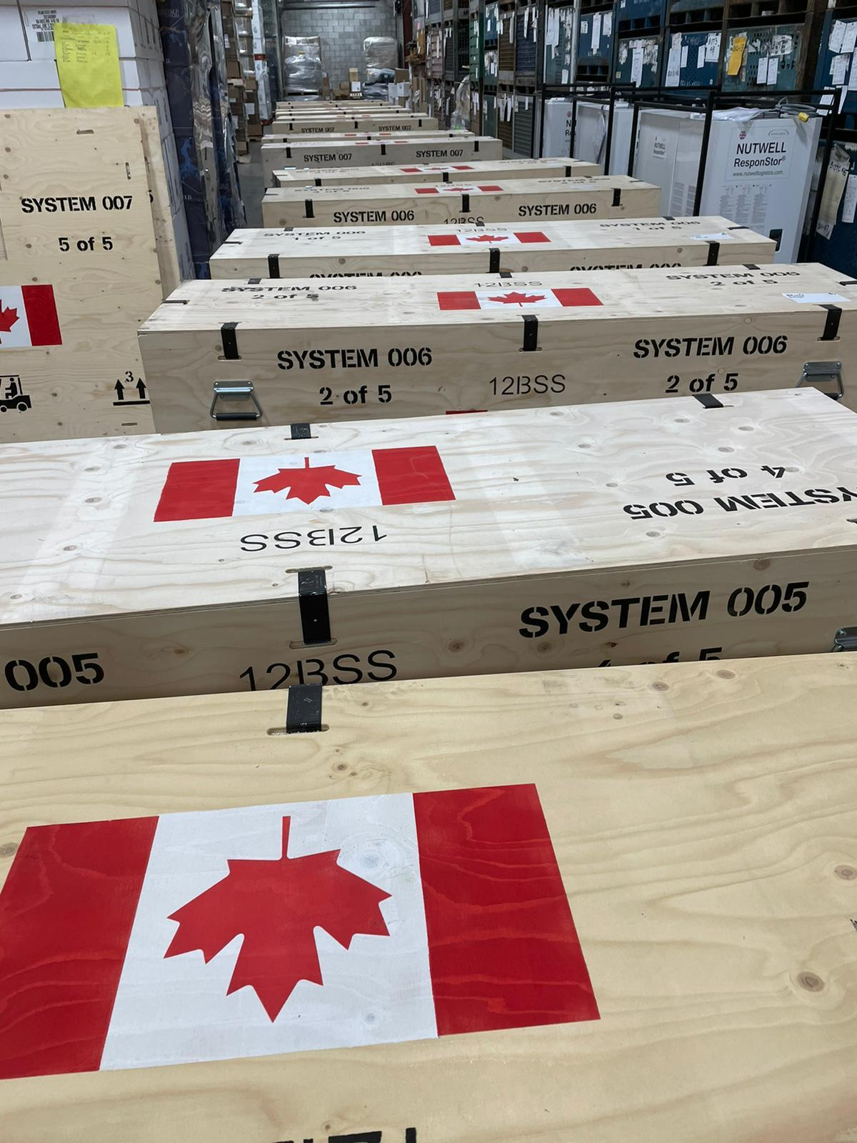 New warehouse now operational in Canada